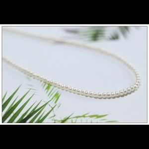 Jewelry - 4-5mm White Potato Freshwater Pearl Necklace